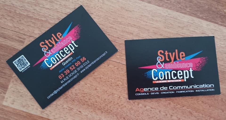 style&ambiance Concept publicite impression signaletique enseigne covering flocage dole besancon jura